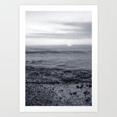 Beach Blues Art Print