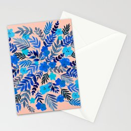 Floral Mondala Stationery Cards