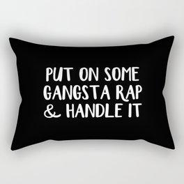 Gangsta Rap Rectangular Pillow