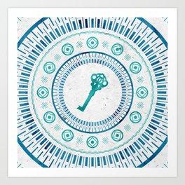 Phantom Keys Series - 07 Art Print