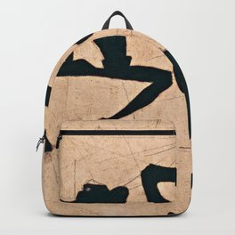 Egon Schiele  -  Composition With Three Male Nudes Backpack