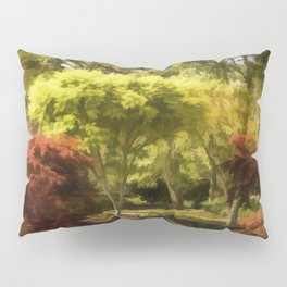 A Walk In The Woods Painting Pillow Sham