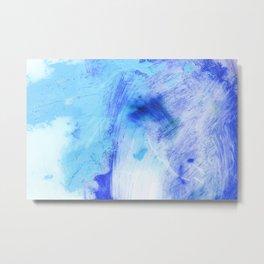 Indigo Bleu Metal Print