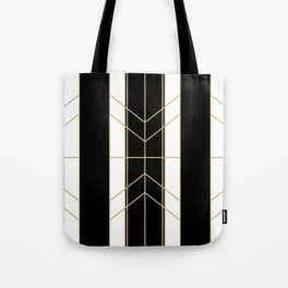 Black & Gold - Art Deco Tote Bag