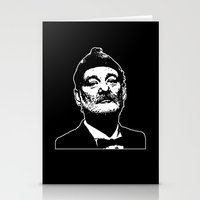 bill murray Stationery Cards featuring Bill Murray Special Edition  by Spyck