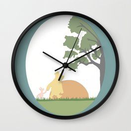 Winnie the Pooh and Piglet Wall Clock