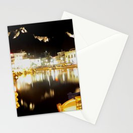 lemnos at night Stationery Cards