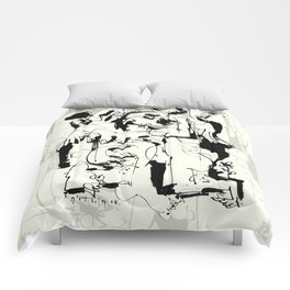 Mourning Angel Comforters