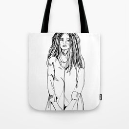 First Hello No.2 Tote Bag
