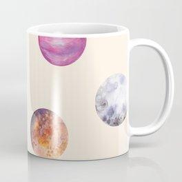Cute naive simple Planet patterns Coffee Mug