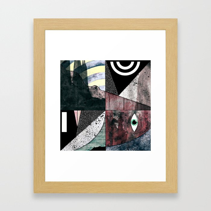 #006 Framed Art Print