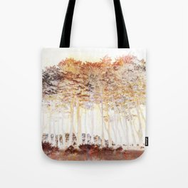 Abstract Monterey Cypress In Infrared with Tint Overlay Tote Bag