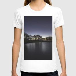 Lakeside at dawn T-shirt