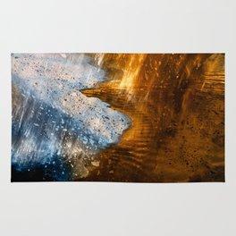 Abstract Acrylic Blizzard Rug