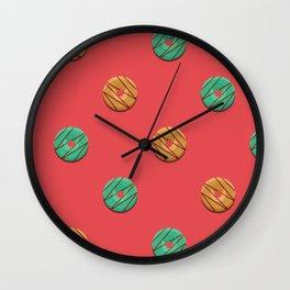 PB + Mint Wall Clock