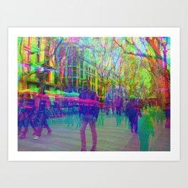 Multiplicitous extrapolatable characterization. 22 Art Print