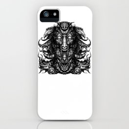 When Sanity Leaves There is only Lunacy That Will Hold Your Hand iPhone Case