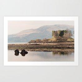 Scotland's Ruins Art Print