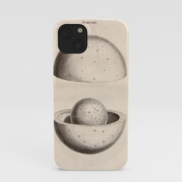 """Art from Thomas Wright's """"An Original Theory or New Hypothesis of the Universe,"""" 1750 iPhone Case"""