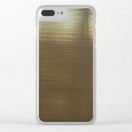 jalousie Clear iPhone Case