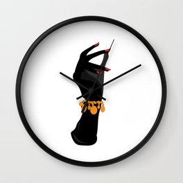 Retro Arm Candy Wall Clock