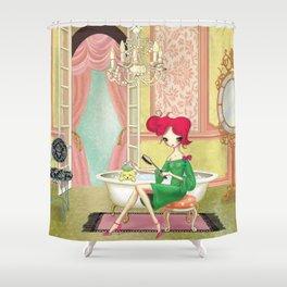 Rub-a-dub-dub Shower Curtain