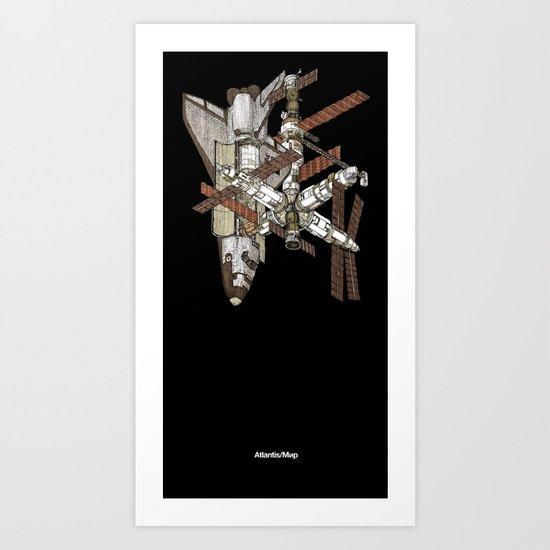 Atlantis/Mir Art Print
