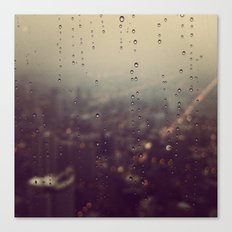 Urban Rainstorm Canvas Print