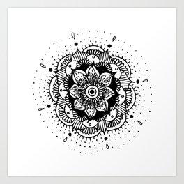 mandala #002 Art Print