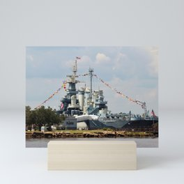 Full Dressed Battleship Mini Art Print