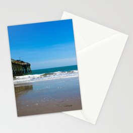 On the Beach, By The Pier Stationery Cards