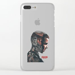 Stranger Thing Series Clear iPhone Case