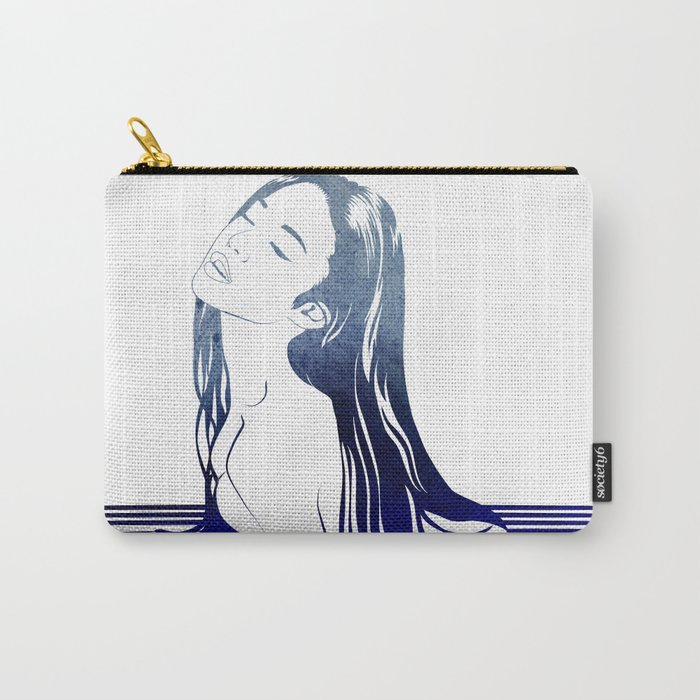 Water Nymph VIII Carry-All Pouch