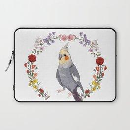 Cockatiel Wreath Laptop Sleeve