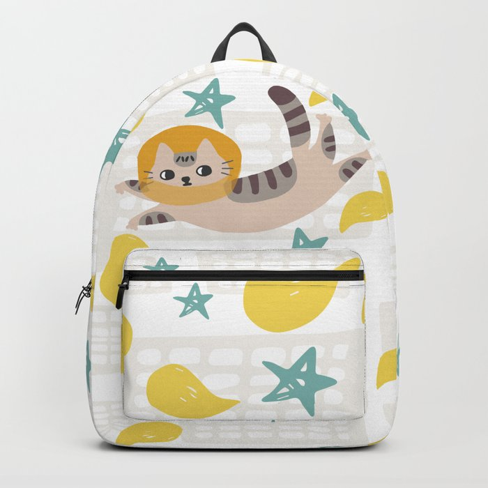 Simba the cat Backpack
