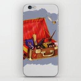 Magic Suitcase iPhone Skin