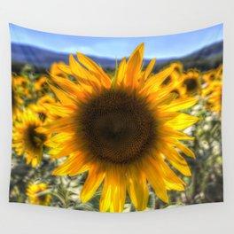 Sunflower Summer Wall Tapestry