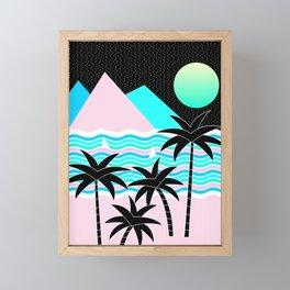 Hello Islands - Starry Waves Framed Mini Art Print