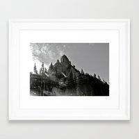 utah Framed Art Prints featuring UTAH by ALX RUTECKI