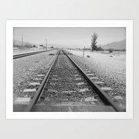 Tracks to Anywhere Art Print