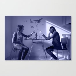 Blue Dreamer Canvas Print
