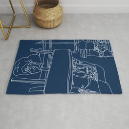 The Blue Chair Rug