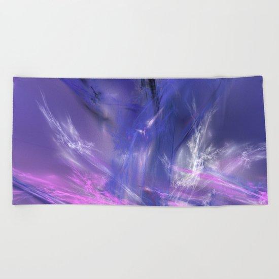 magic ice Beach Towel