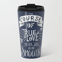 True Love in Blue Travel Mug