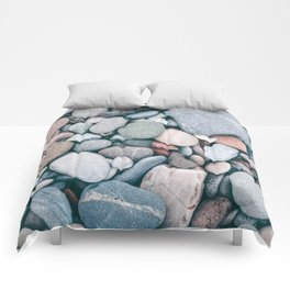 Beach Pebbles Comforters