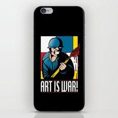 Art is War! iPhone & iPod Skin