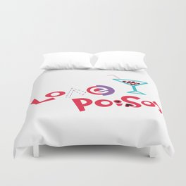 Love Poison 002 Duvet Cover