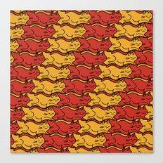 Tesselcats Canvas Print