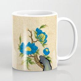 Minhwa: Peony on the Rock B Type Coffee Mug