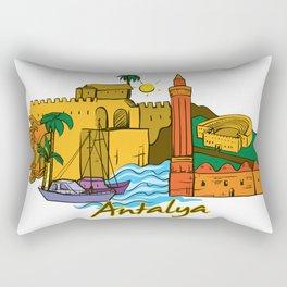 Antalya Rectangular Pillow